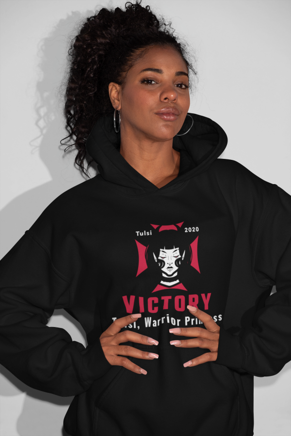 tulsi warrior princess hoodie