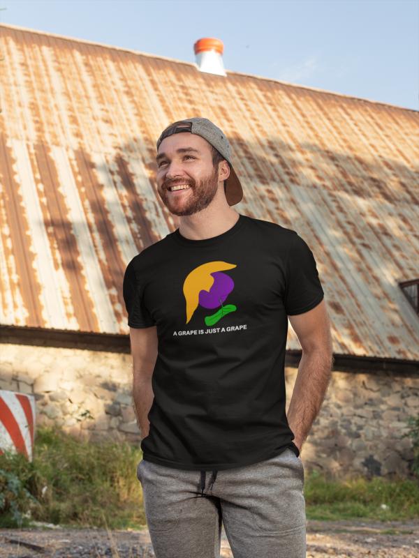 a grape is just a grape tshirt