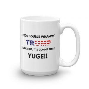 trump yuge mug